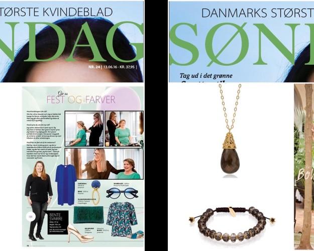 Priesme i Ugebladet Søndag