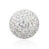 Priesme kugle på 16 mm med klare Swarovski krystaller