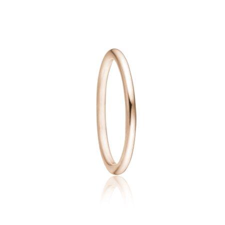 Priesme sølv ring