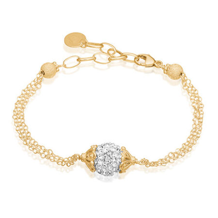 Priesme Brilliant Selection armbånd med 10 mm Swarovski kugle